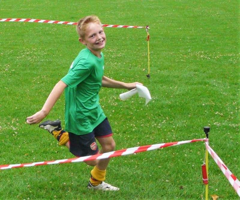 Maze orienteering in Taunton, July '17
