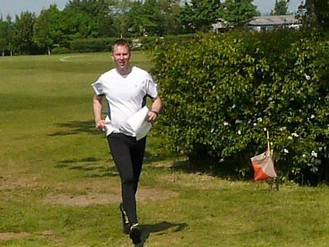 Matt Managed To Squeeze In A Run