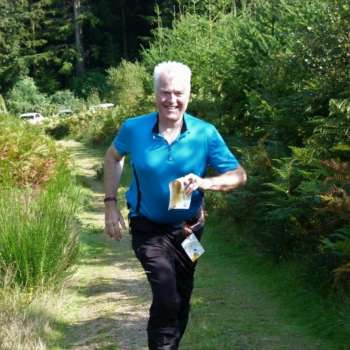 David H on the ever popular 'Fox' training course for seniors