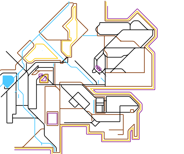 Young Wood reinvented as a tube map
