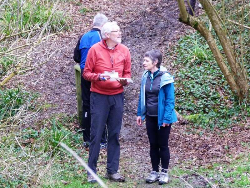 Which way now? John C mulls it over at Henlade Hill