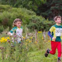Juniors running