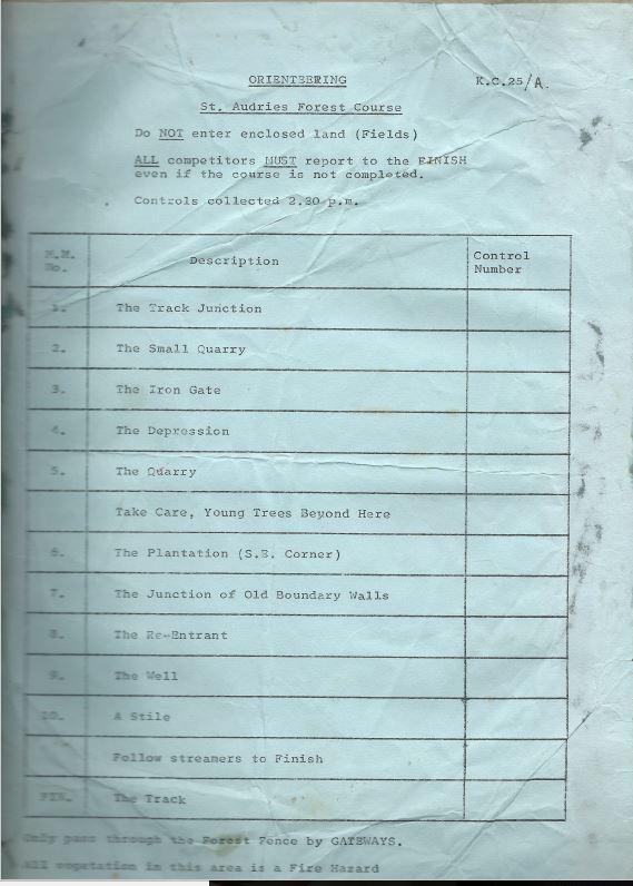 Control descriptions, 1970 style