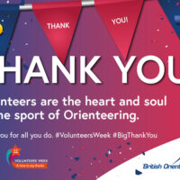 British Orienteering Thank You Postcard Front Web