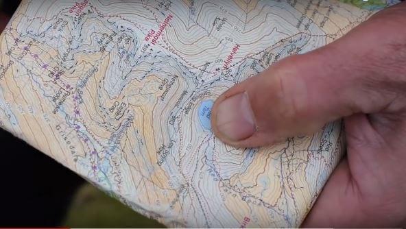 Thumbing Map