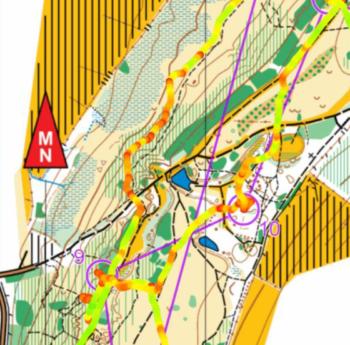 Running Speed Route Analysis