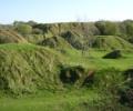 Old quarry spoil heaps, Ham Hill