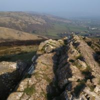 Wavering Down, from Crook Peak (Mendips)