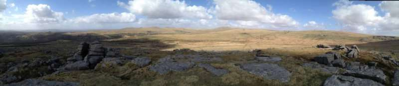 Kings Tor: 360 degrees