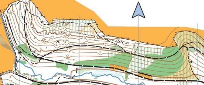A special orienteering map