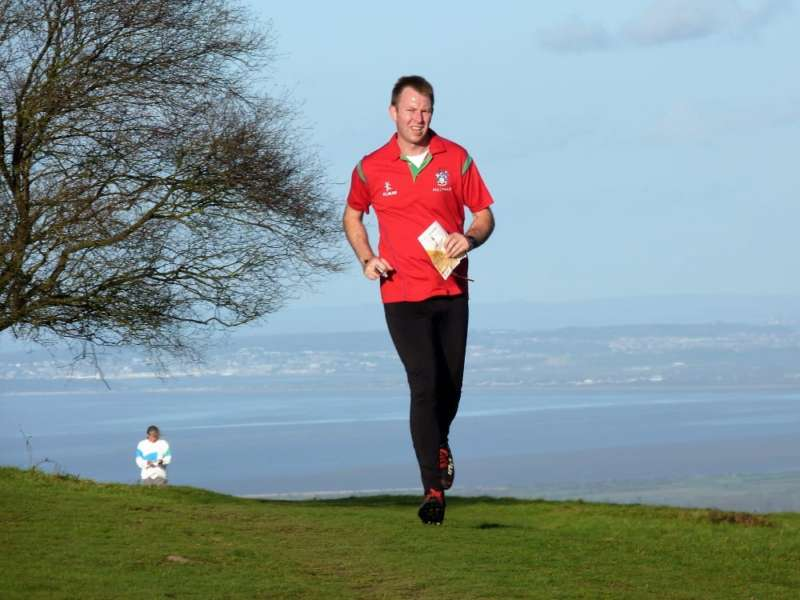 2018 Lydeard Hill JOG with Bristol Channel as backdrop