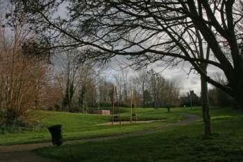 Recreation ground at Comeytrowe