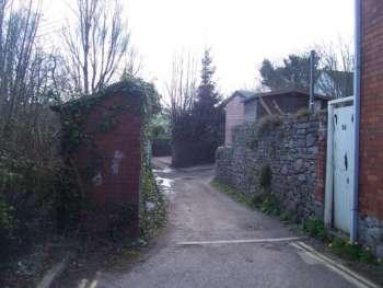 Water Lane, Tiverton