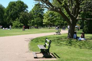 lawns at Vivary Park