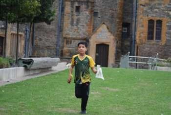 Ollie On His Winning Run Prologue