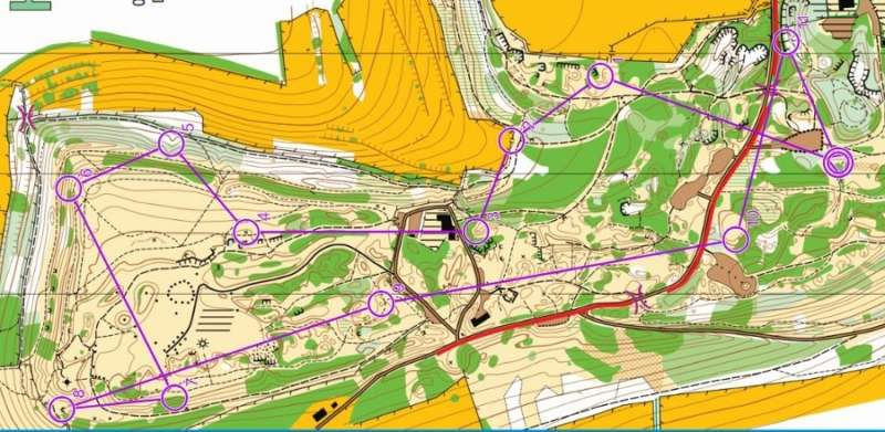 Sue's winning route- no 10's, five 20's, two 30's and four 40's