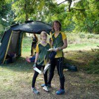 Finishers Chloe And Dawn
