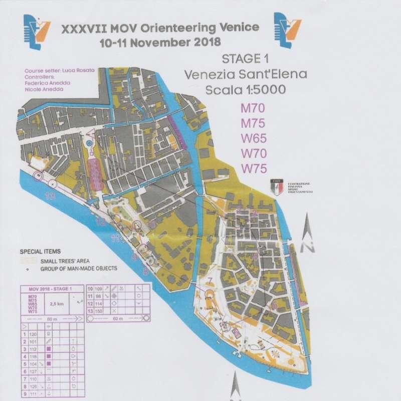 Tony's Venice map