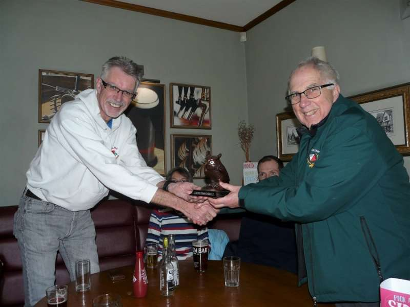 Gavin Regains Owl Trophy S