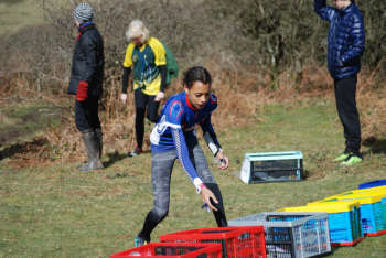 A BOK junior at the start