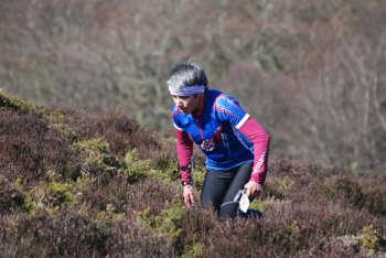 A tough uphill slog through the heath