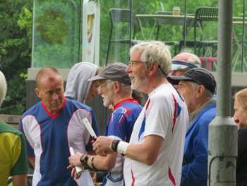 A confident Steve R and Bristol OK wait To Start
