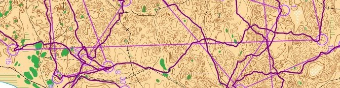 Broughton= route on the long leg 15 (far left) to 16 (far right)