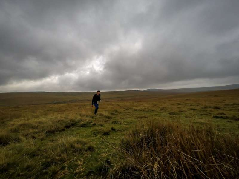 A moody moorland scene from day 1