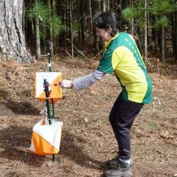 Elaine Finishing The Green Course