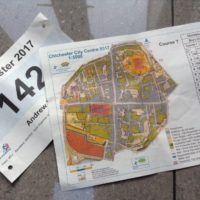 Andrew's souvenirs from the urban race