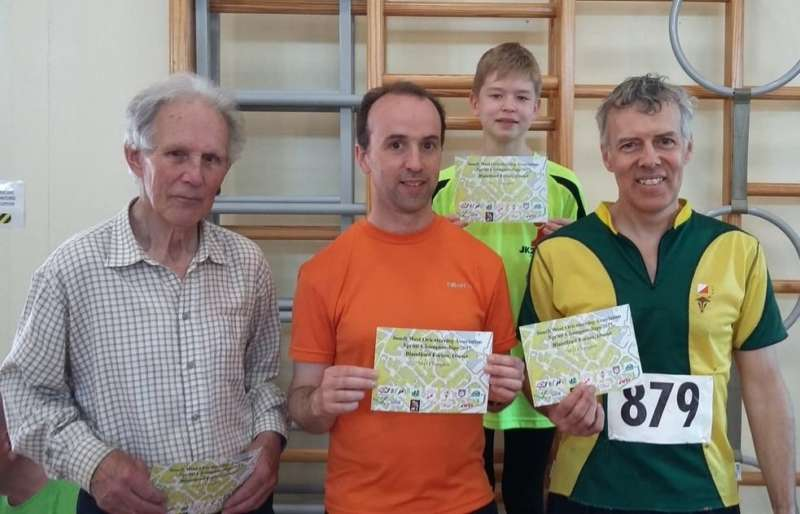 Honours for Mike C, Richard S, Andrew & Brian P