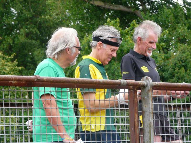 Trail O section: Tony H, Brian P and Gavin C
