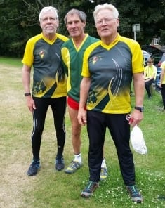 Senior team of Steve R, Jim M and Roger D