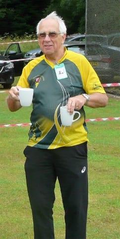 A mug shot of Roger