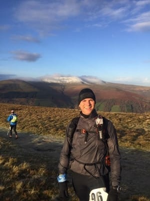 Adrian Edwards at the Brecons Ultra