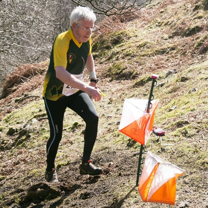 Steve R on steep Lakeland terrain, JK '15