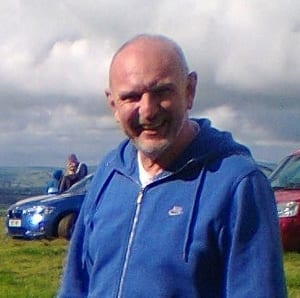 Mark R at the Cothelstone Hill event