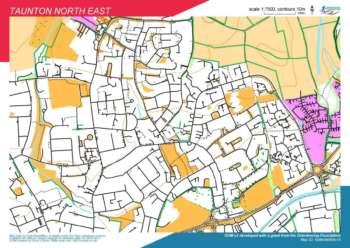 Taunton Ne Course Map V2