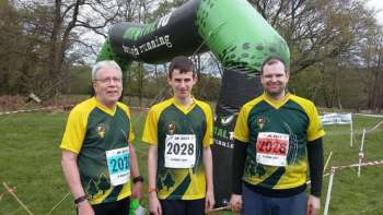 QOtation relay team: Steve R, Tom, Jeff P