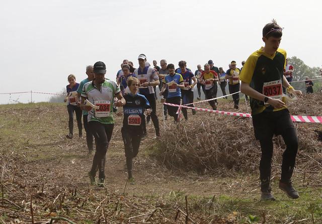Tom, first runner for QO KATs