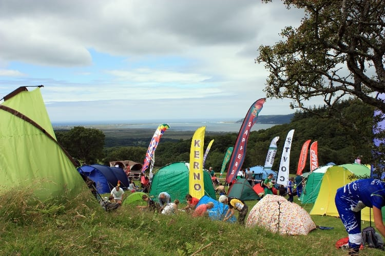 Foel Goch assembly overlooking Dovey Estuary, 2012