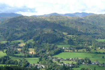 Silver Howe above Grasmere village