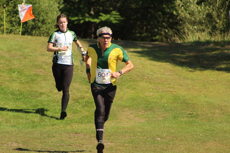 Brian P, on the final straight at Inverlochy