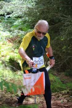 Tony Hext at Balfour Forest, day 2