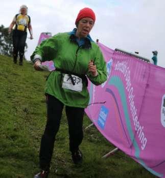Sue on day 5 at Glen Feardar