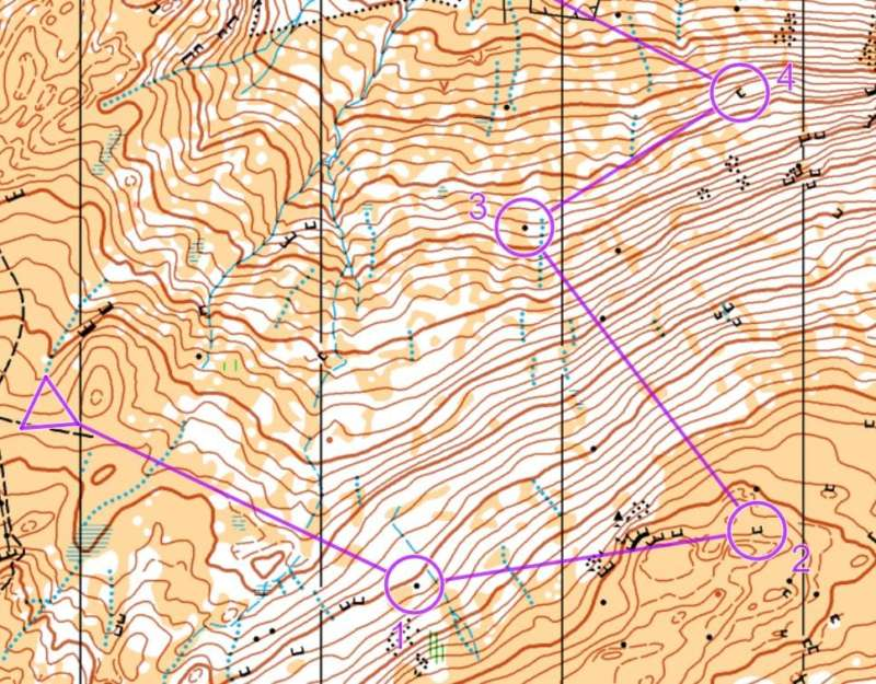 2- Tricky downhill at Creag Choinnich (M45L)