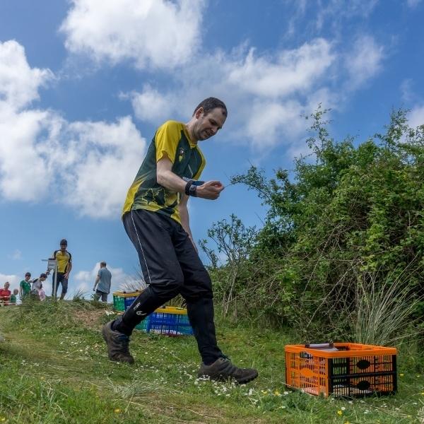 Jeff starting long course at Braunton