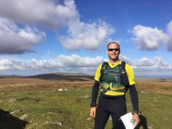 At the Dartmoor Long O, Cosdon Hill, Oct 16