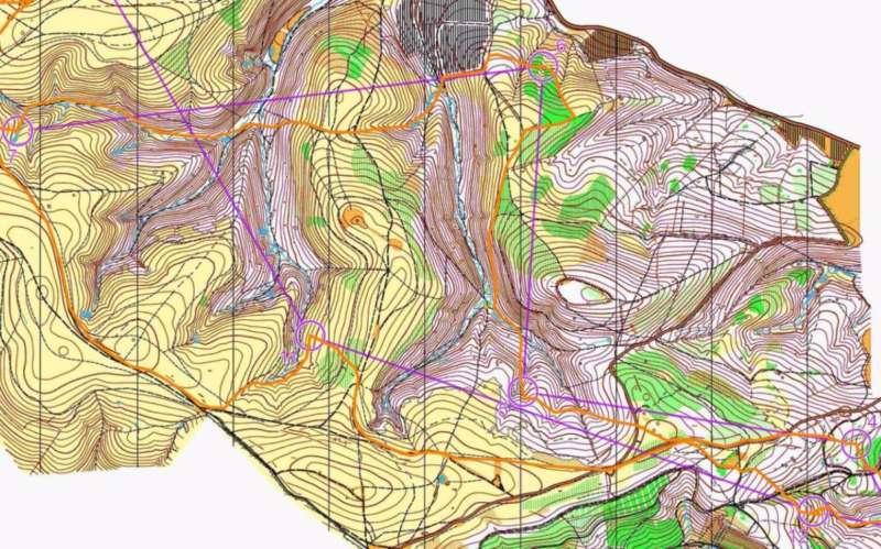 Long: Brian Pearson & John Kirby's route