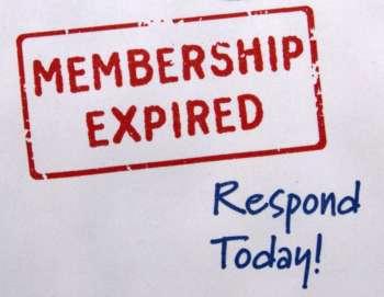 Memship Expired